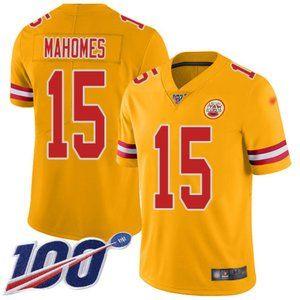 Kansas City Chiefs #15 Patrick Mahomes Jersey